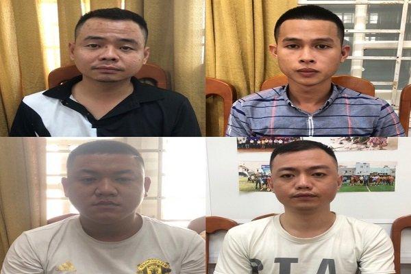 Bắt 14 người từ Hà Nội vào Đà Nẵng cho vay nặng lãi - Ảnh 1.
