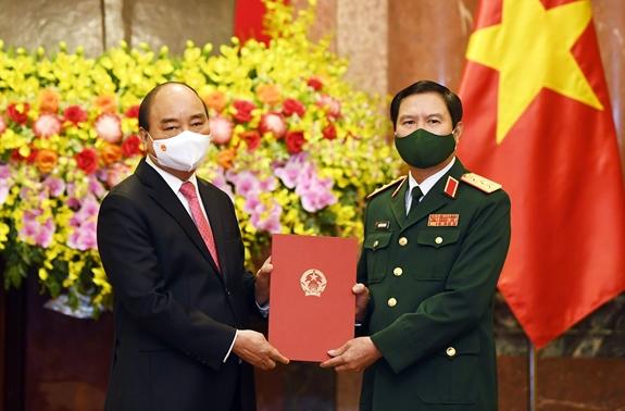 Thượng tướng Nguyễn Tân Cương được bổ nhiệm làm Tổng Tham mưu trưởng Quân đội nhân dân Việt Nam - Ảnh 1.