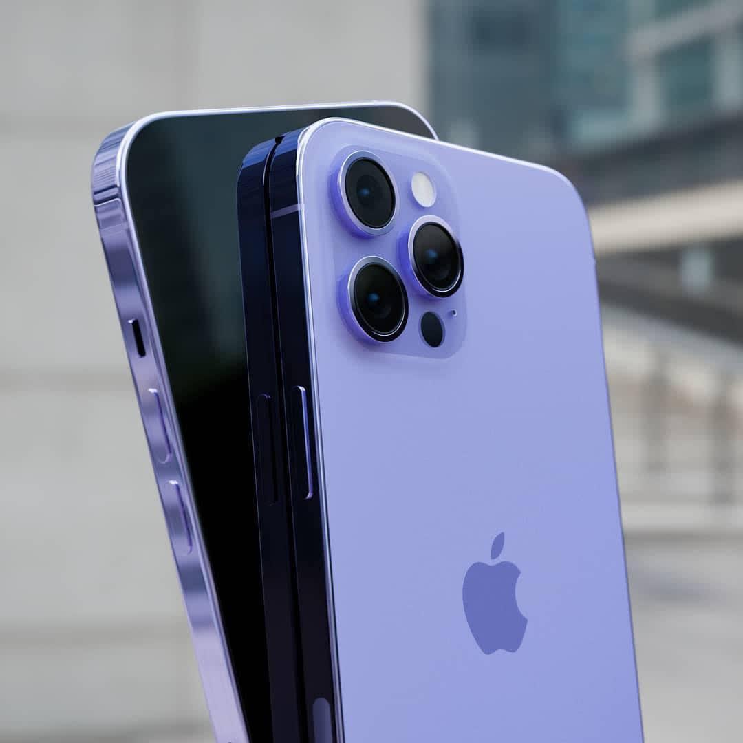 Xuất hiện concept iPhone 13 màu tím đẹp lịm tim, cộng đồng mạng đợi ngày xuống tiền thôi! - Ảnh 1.