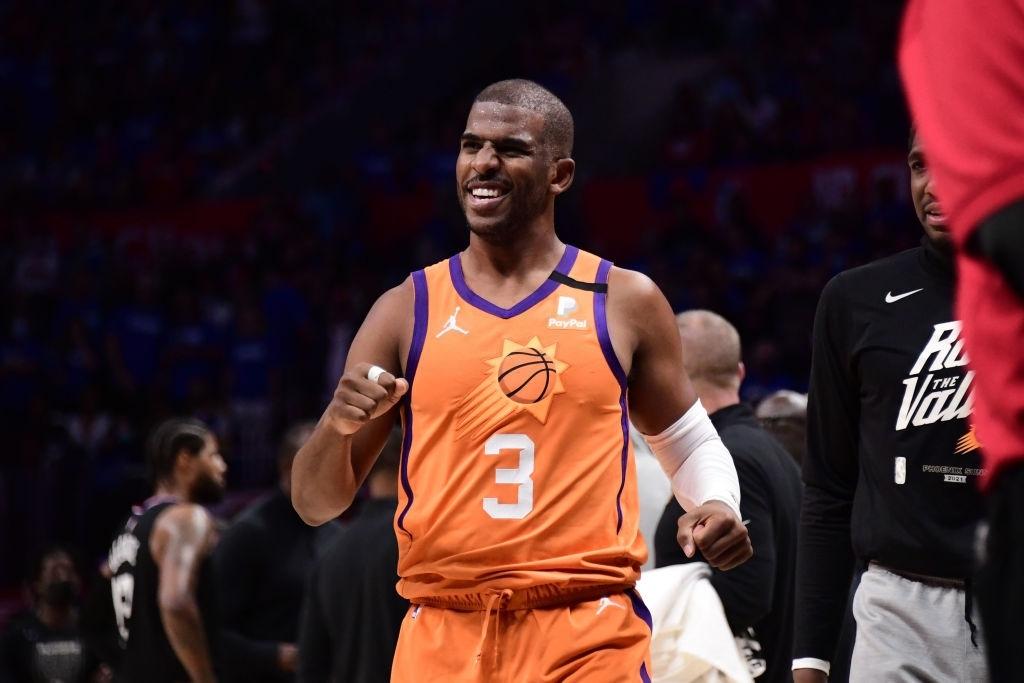 Phoenix Suns hủy diệt Los Angeles Clippers, Chris Paul lần đầu lọt vào NBA Finals ở tuổi 36 - Ảnh 3.