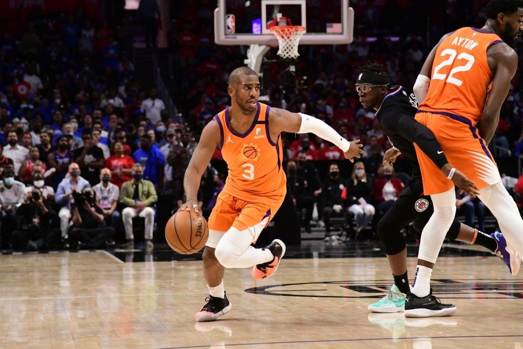 Phoenix Suns hủy diệt Los Angeles Clippers, Chris Paul lần đầu lọt vào NBA Finals ở tuổi 36 - Ảnh 2.