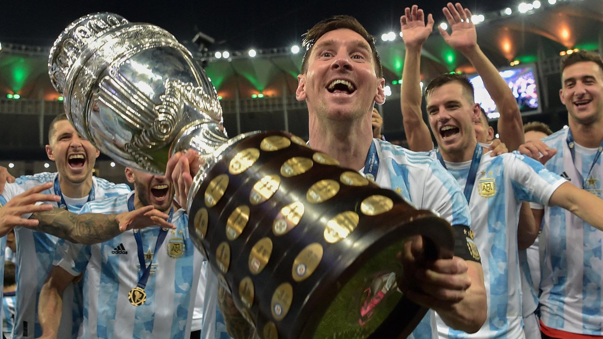 Đoạn kết đẹp cho Lionel Messi và tập thể Argentina - Ảnh 1.