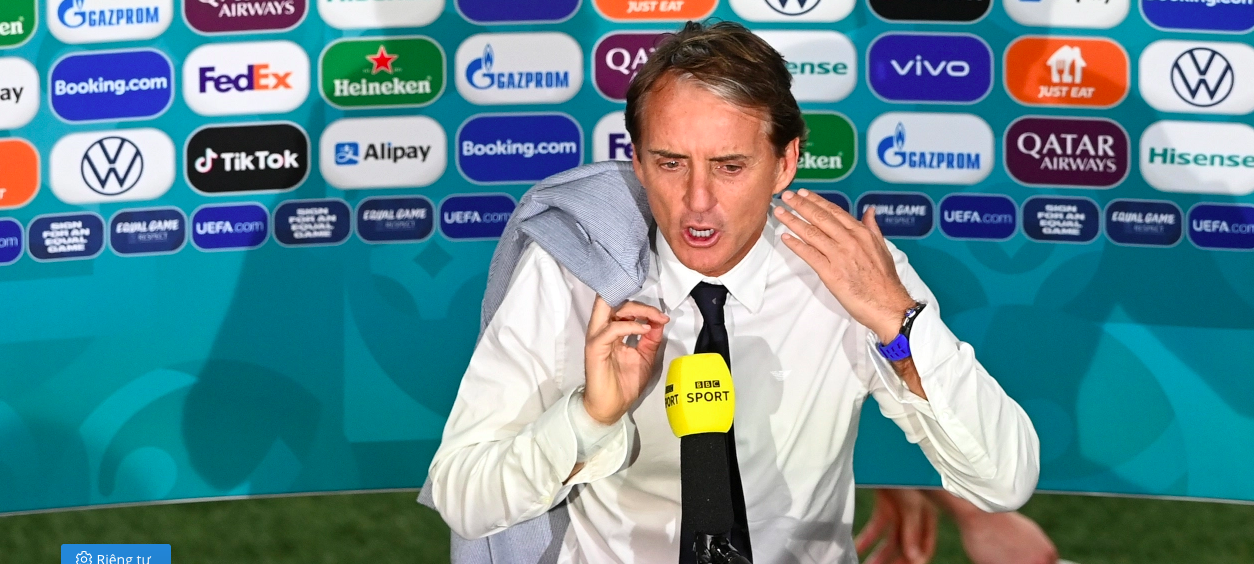 """Mancini: """"Hy vọng kỹ thuật của Ý sẽ thắng thể chất của Anh"""" - Ảnh 1."""