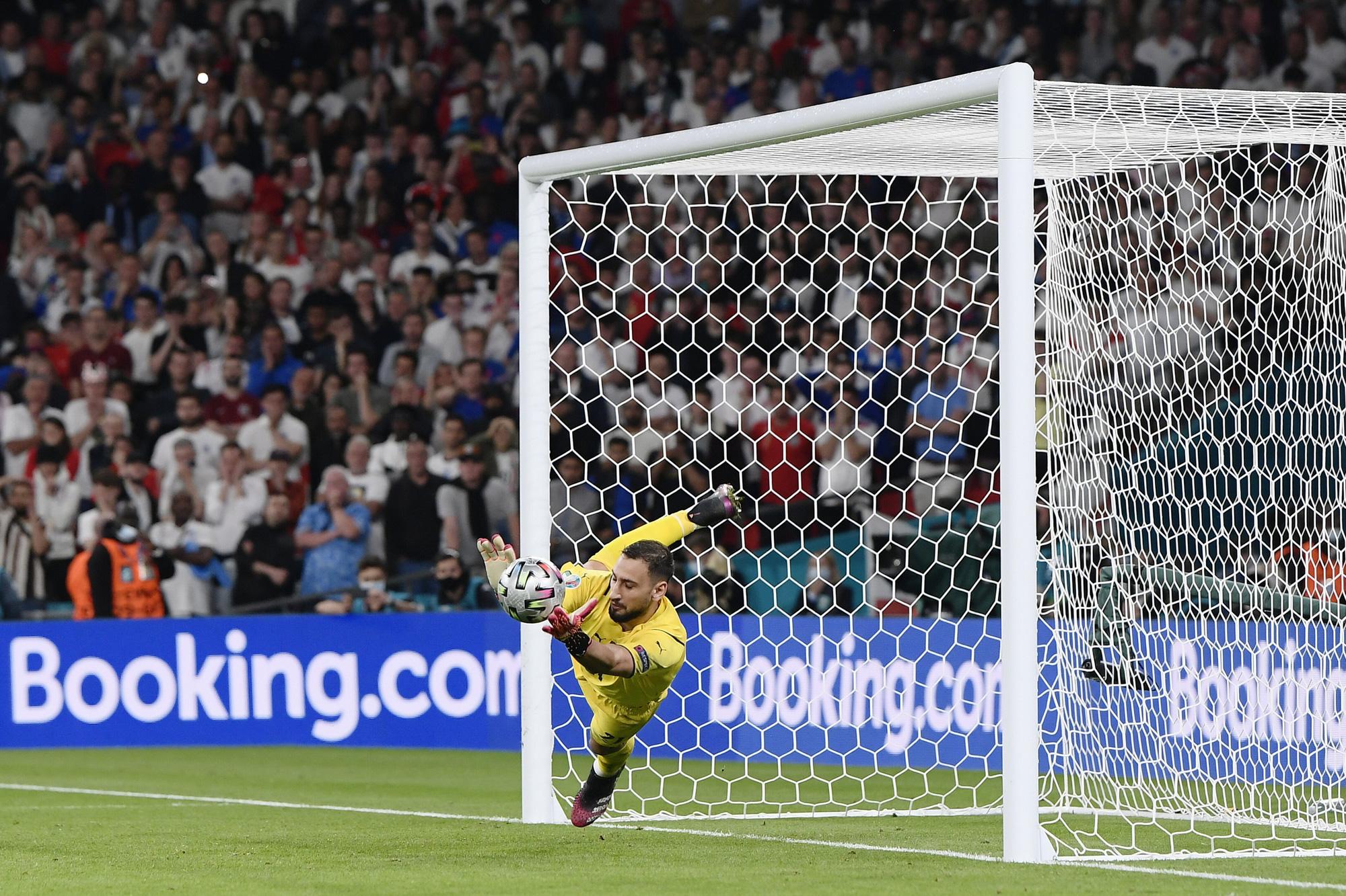 """Chấm điểm cầu thủ Italy vs Anh: """"Siêu nhân"""" mang tên Gianluigi Donnarumma - Ảnh 1."""