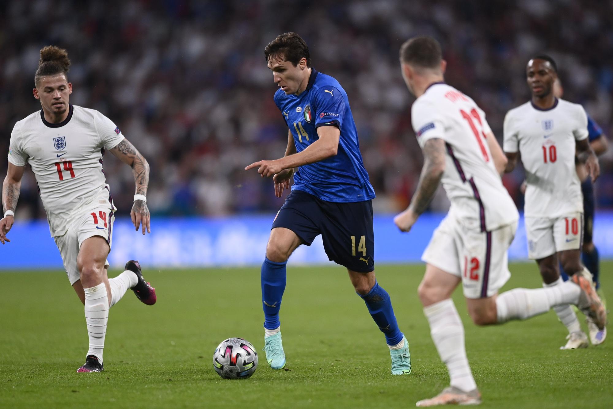 """Chấm điểm cầu thủ Italy vs Anh: """"Siêu nhân"""" mang tên Gianluigi Donnarumma - Ảnh 9."""