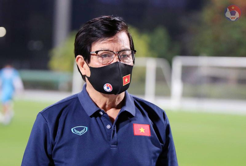 """Trưởng đoàn Nguyễn Sỹ Hiển: """"Cần nhìn nhận đúng và đánh giá khách quan về trình độ của tuyển Việt Nam"""" - Ảnh 1."""