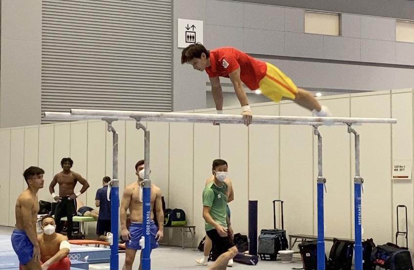 VĐV Việt Nam tập luyện từ sáng sớm, hợp với đồ ăn ở Olympic Tokyo - Ảnh 4.
