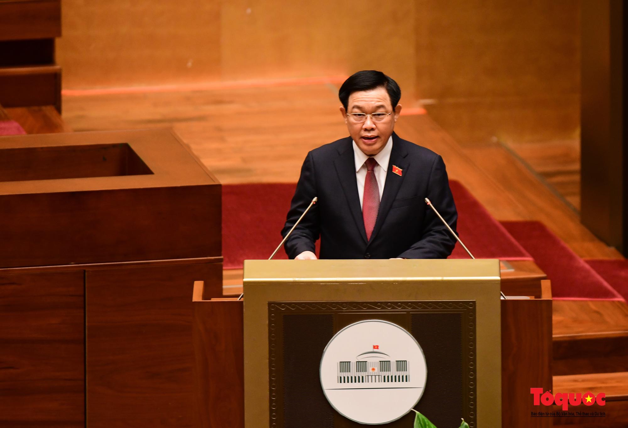 Chùm ảnh: Khai mạc trọng thể Kỳ họp thứ nhất, Quốc hội khóa XV - Ảnh 3.
