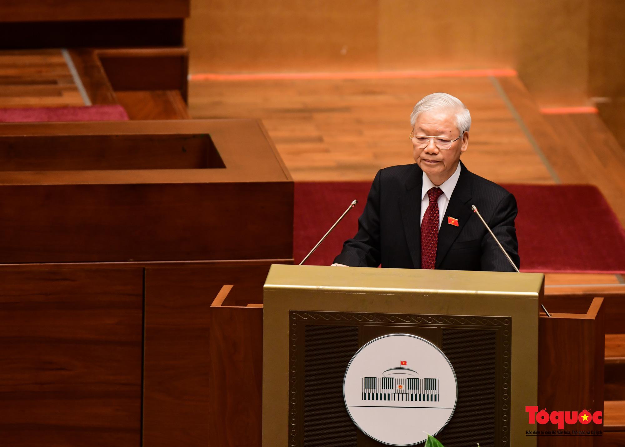 Chùm ảnh: Khai mạc trọng thể Kỳ họp thứ nhất, Quốc hội khóa XV - Ảnh 6.