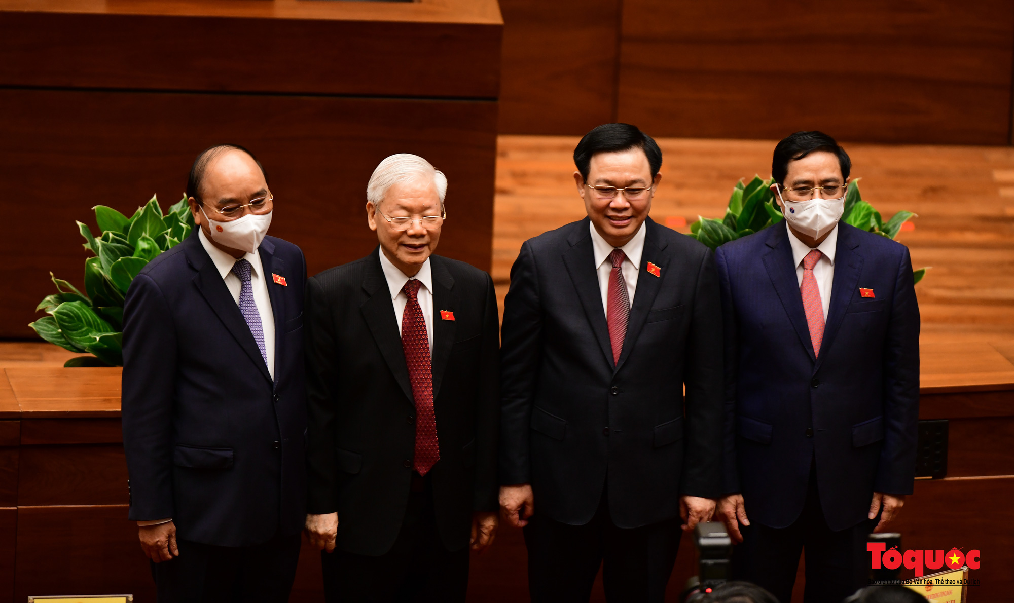 Chùm ảnh: Khai mạc trọng thể Kỳ họp thứ nhất, Quốc hội khóa XV - Ảnh 8.