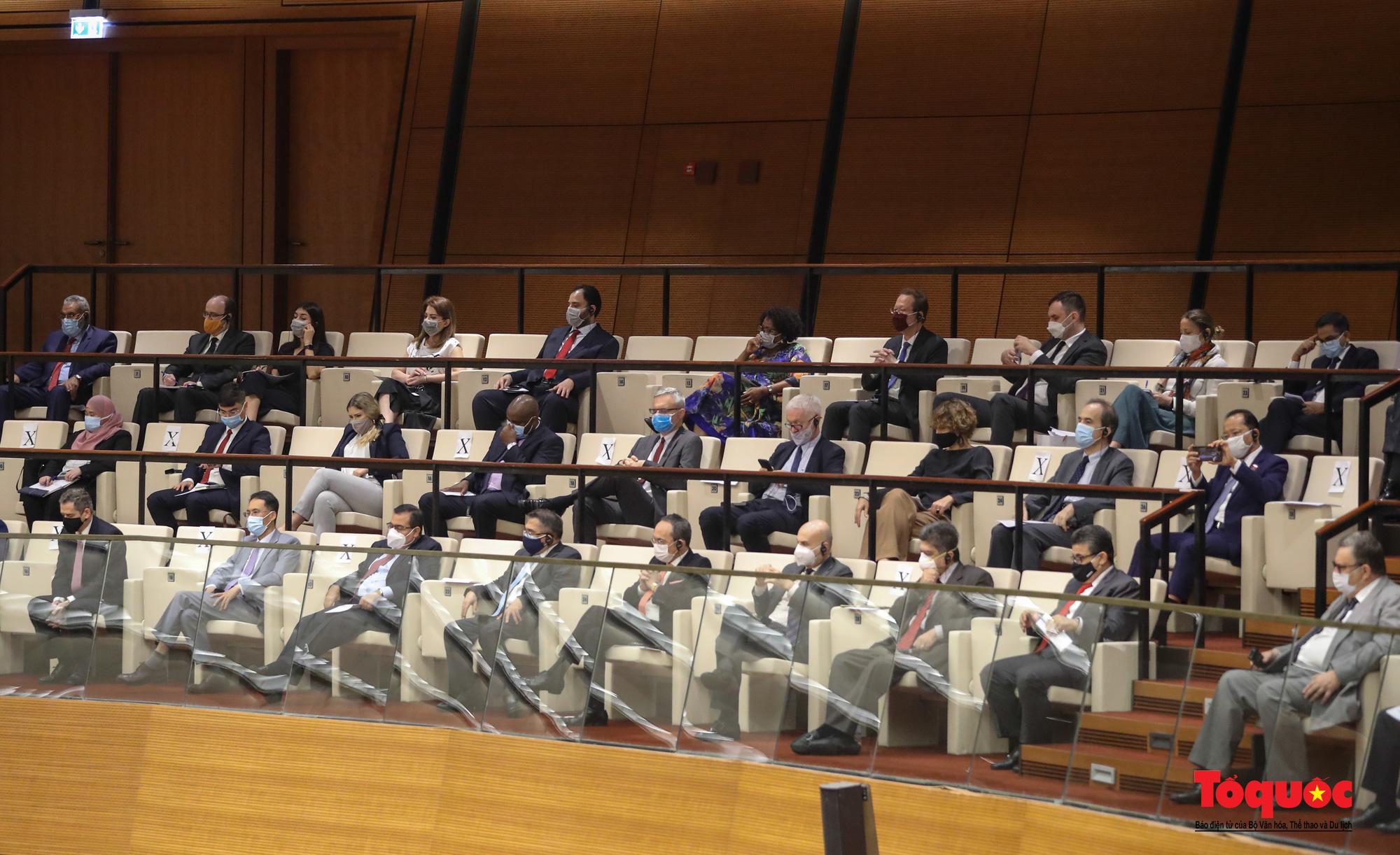 Chùm ảnh: Khai mạc trọng thể Kỳ họp thứ nhất, Quốc hội khóa XV - Ảnh 5.