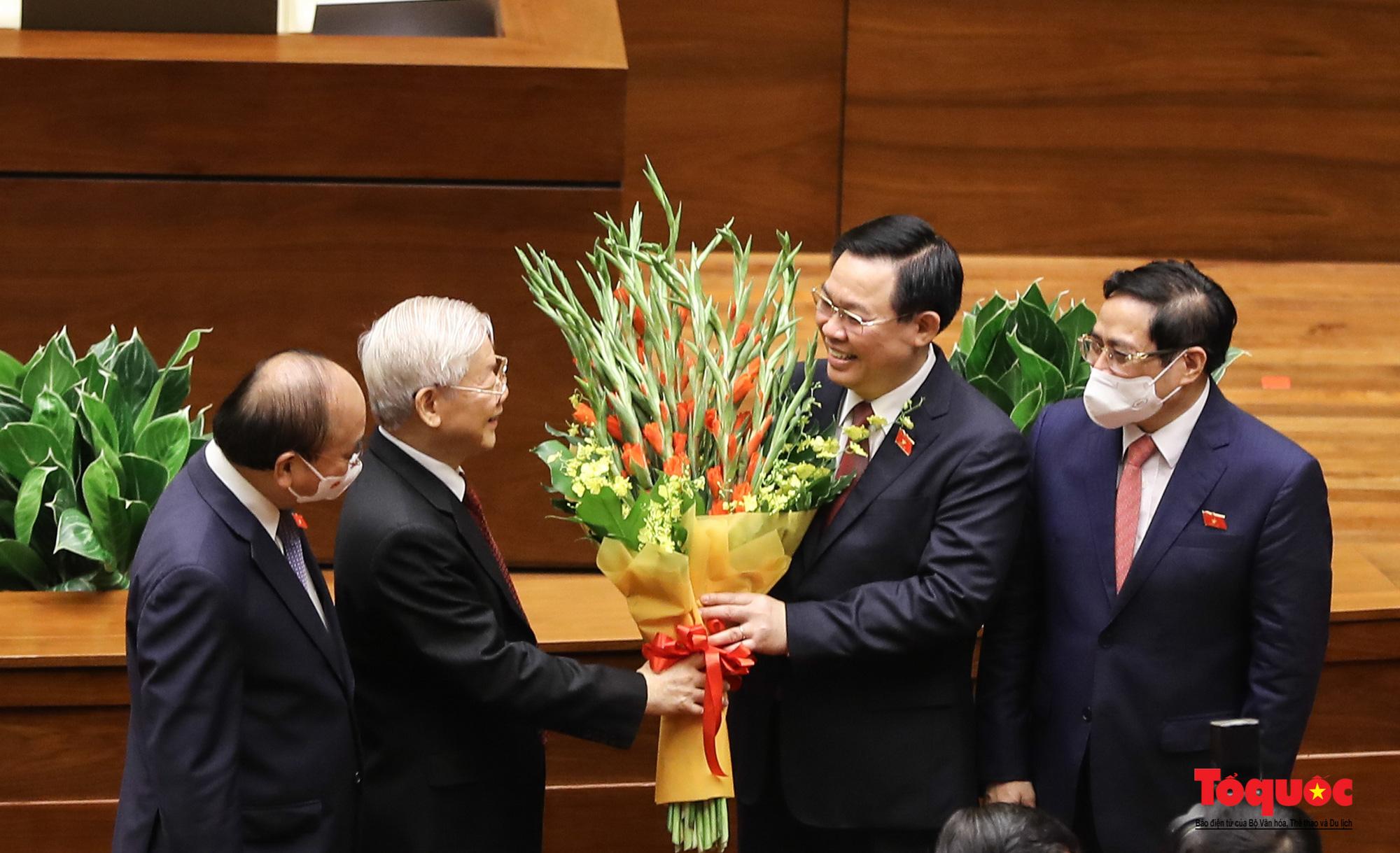 Chùm ảnh: Khai mạc trọng thể Kỳ họp thứ nhất, Quốc hội khóa XV - Ảnh 7.