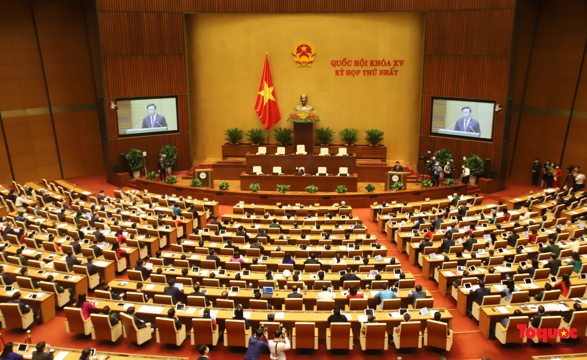 """Kì vọng Quốc hội sẽ hoạt động """"thực chất, thực quyền"""" hơn nữa dưới sự điều hành của Chủ tịch Quốc hội Vương Đình Huệ - Ảnh 3."""