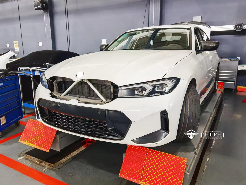 Hình ảnh BMW 3-Series bản nâng cấp bí ẩn đang gây xôn xao trên thế giới hoá ra đã xuất hiện tại Việt Nam từ lâu - Ảnh 2.