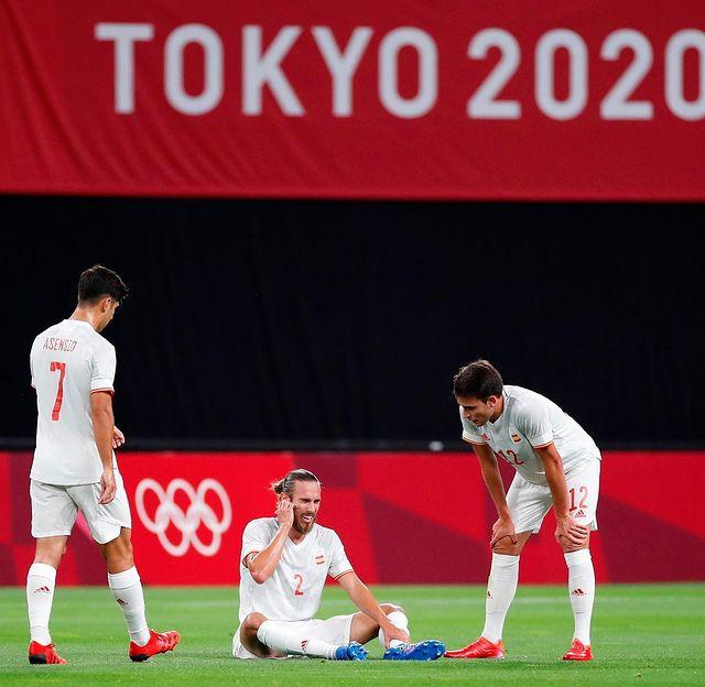 2 trụ cột của Olympic Tây Ban Nha phải nghỉ thi đấu hết vòng bảng - Ảnh 3.
