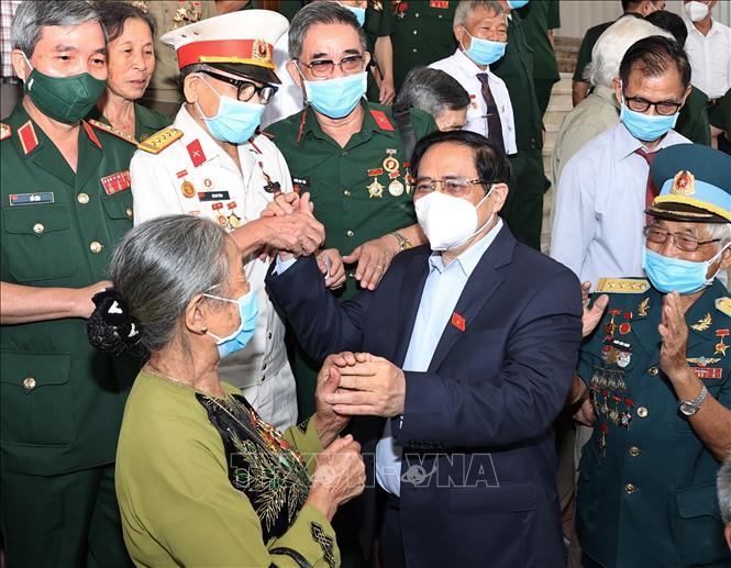 Thủ tướng Phạm Minh Chính: Nơi đâu ở Việt Nam cũng khắc ghi sự hy sinh cao cả vì Tổ quốc - Ảnh 1.