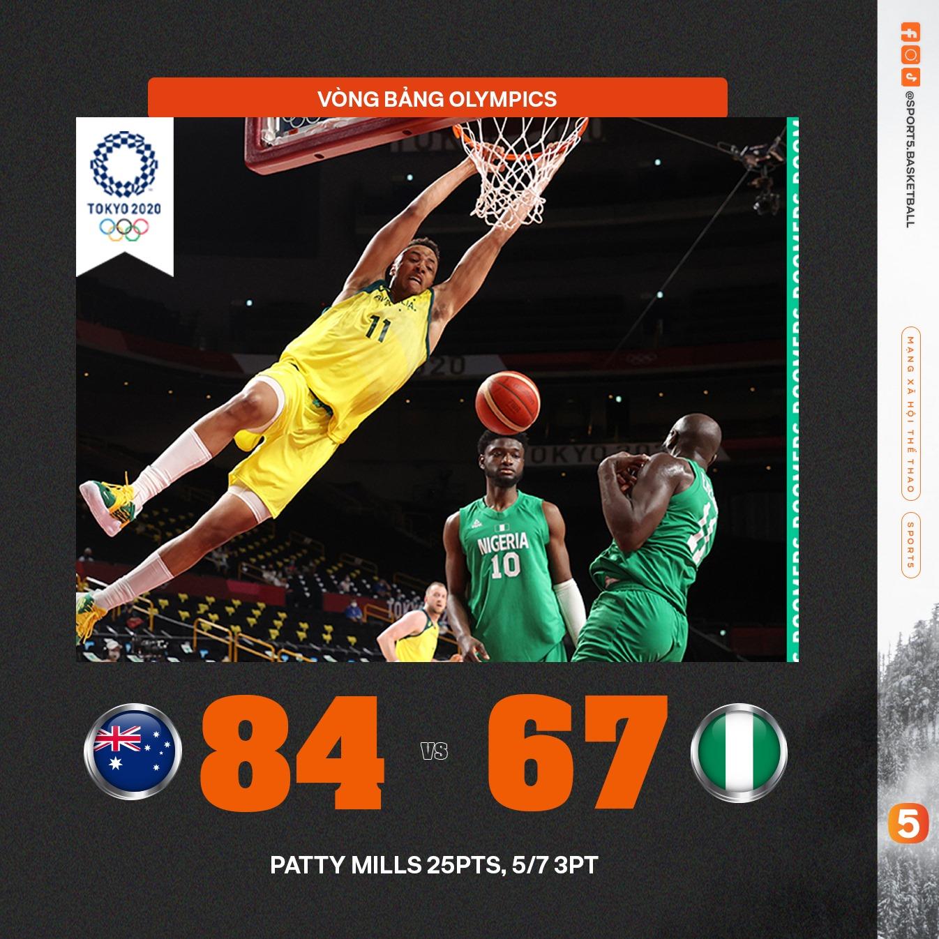 Tổng hợp kết quả ngày thi đấu thứ 1 Bóng rổ Olympics: Cú sốc mang tên ĐT Mỹ - Ảnh 4.