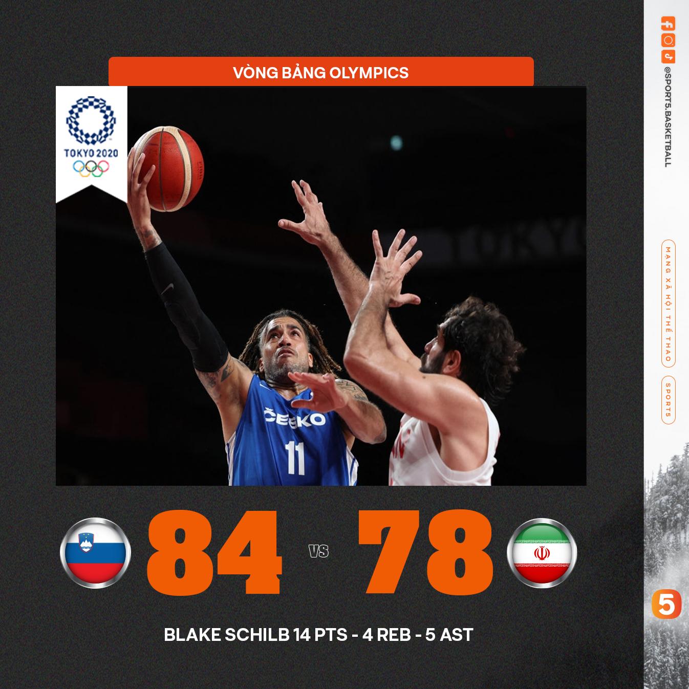 Tổng hợp kết quả ngày thi đấu thứ 1 Bóng rổ Olympics: Cú sốc mang tên ĐT Mỹ - Ảnh 2.