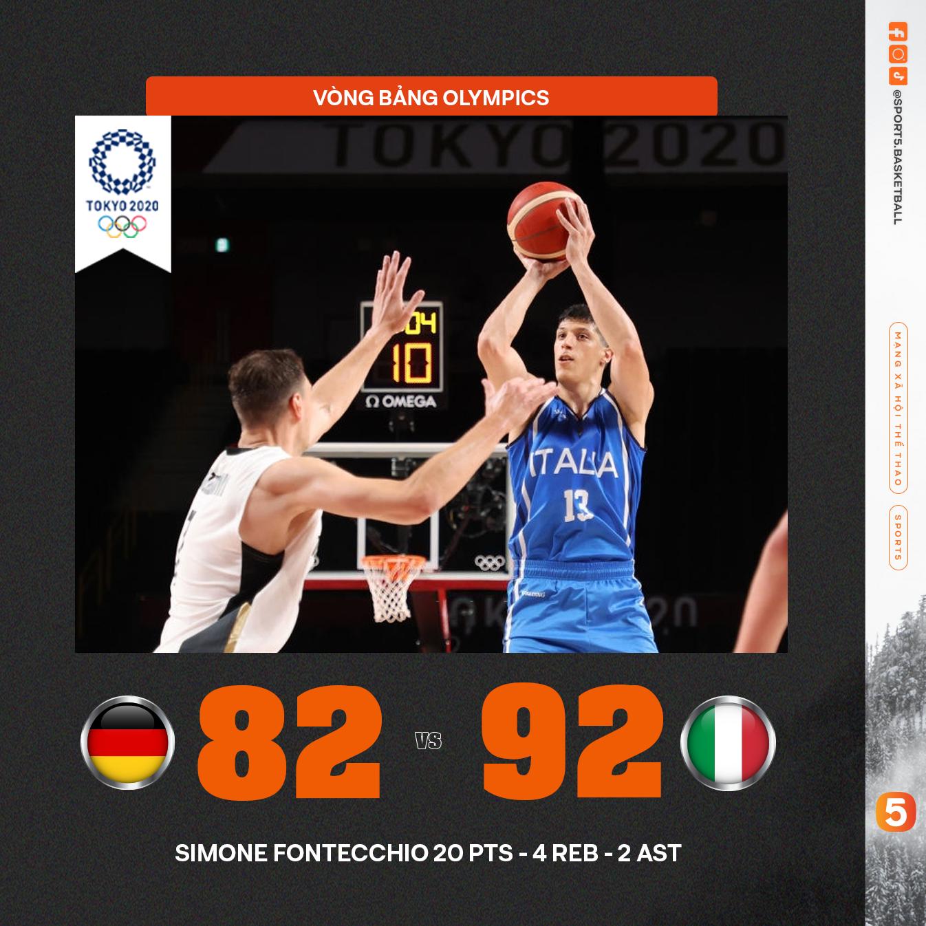 Tổng hợp kết quả ngày thi đấu thứ 1 Bóng rổ Olympics: Cú sốc mang tên ĐT Mỹ - Ảnh 3.
