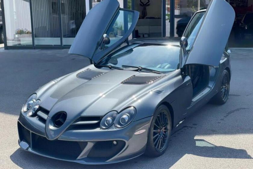 Siêu xe cánh chim Mercedes SLR McLaren 722 bán giá gấp 15 lần mua mới, ngang Bugatti Chiron - Ảnh 1.