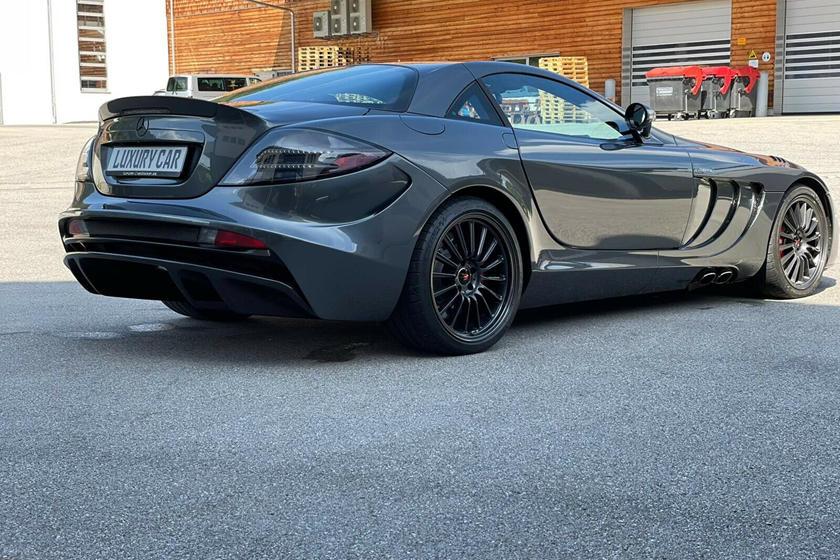 Siêu xe cánh chim Mercedes SLR McLaren 722 bán giá gấp 15 lần mua mới, ngang Bugatti Chiron - Ảnh 3.