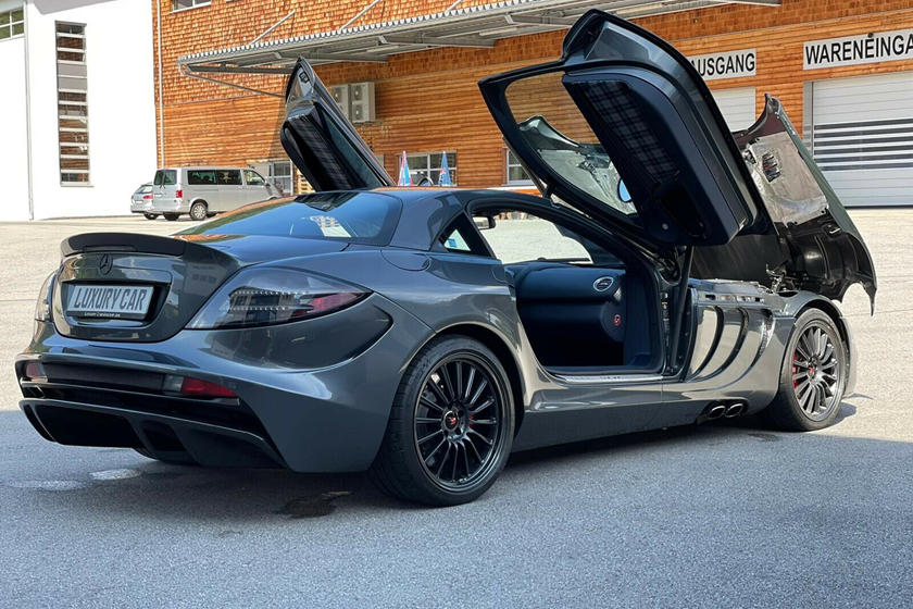 Siêu xe cánh chim Mercedes SLR McLaren 722 bán giá gấp 15 lần mua mới, ngang Bugatti Chiron - Ảnh 2.