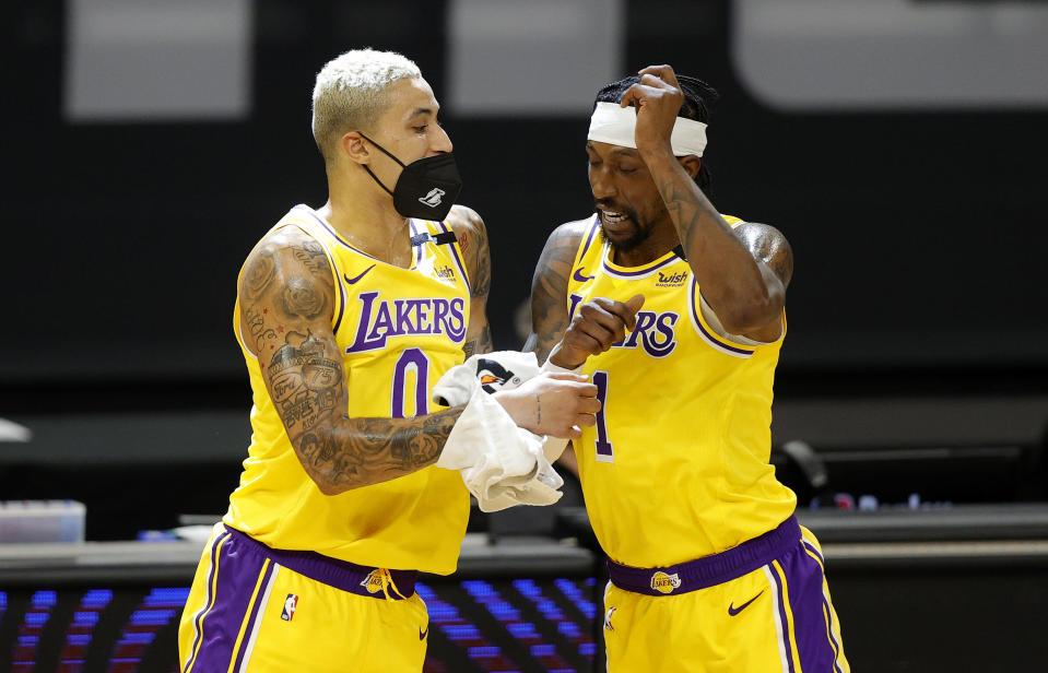 """Chuyển nhượng Los Angeles Lakers: Đau đầu tìm """"bến đỗ"""" cho Kyle Kuzma và Kentavious Caldwell-Pope - Ảnh 2."""