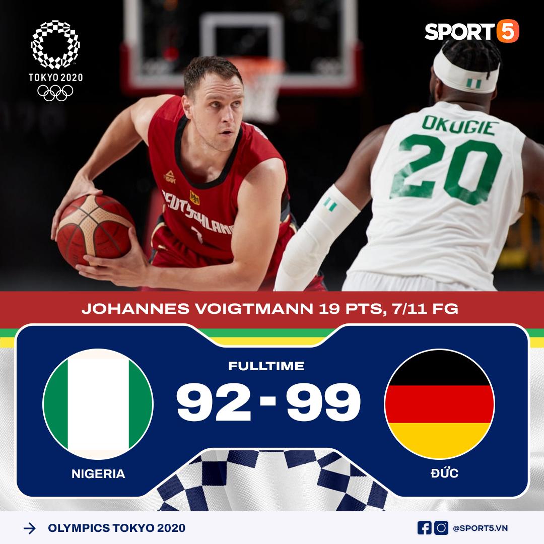 Kết quả lượt trận thứ hai môn bóng rổ Olympic Tokyo 2020: Không có bất ngờ xảy ra - Ảnh 3.