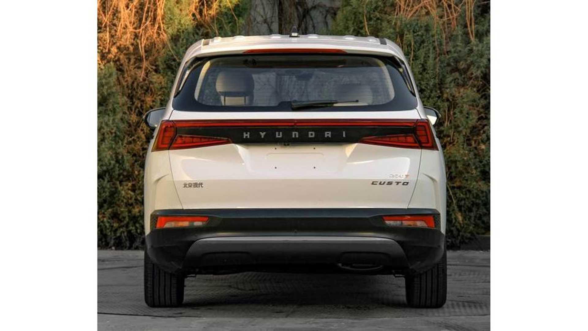 Hyundai Custo - 'Tucson 7 chỗ' chính thức lộ diện, đấu Kia Carnival - Ảnh 4.