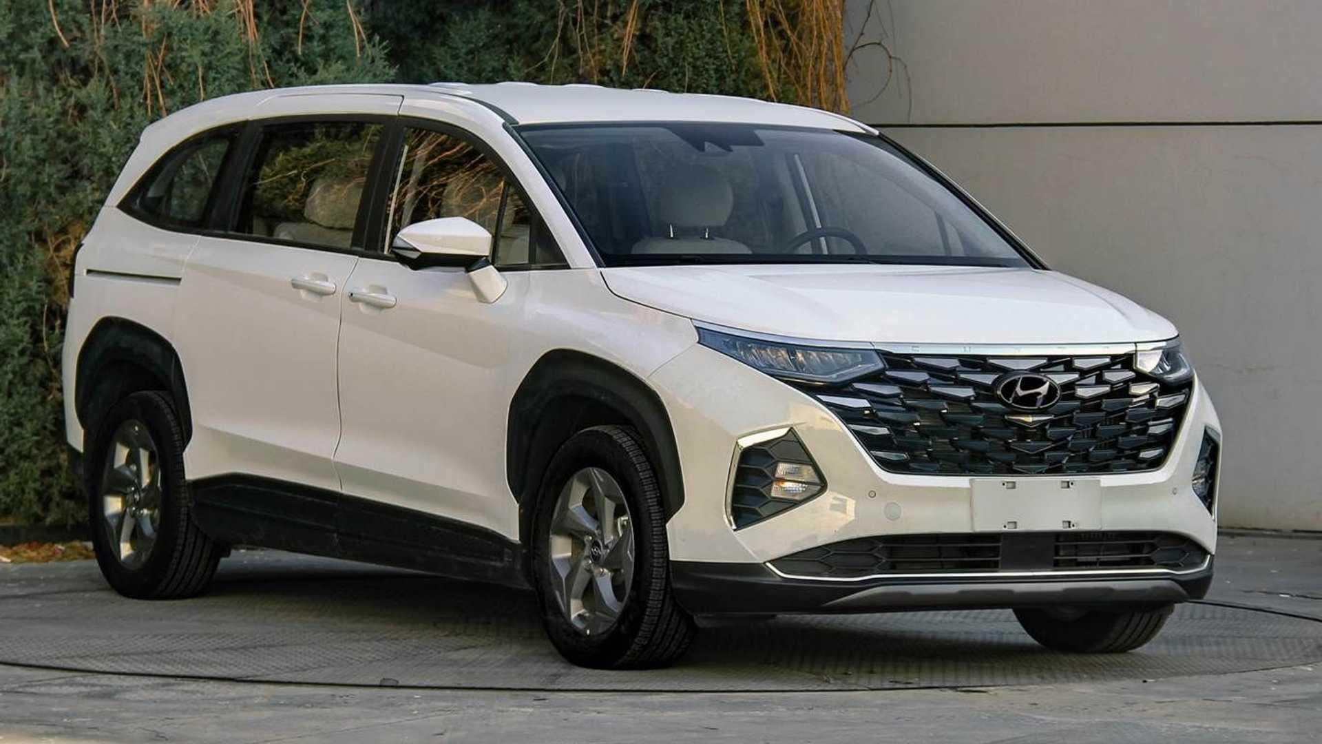Hyundai Custo - 'Tucson 7 chỗ' chính thức lộ diện, đấu Kia Carnival - Ảnh 3.