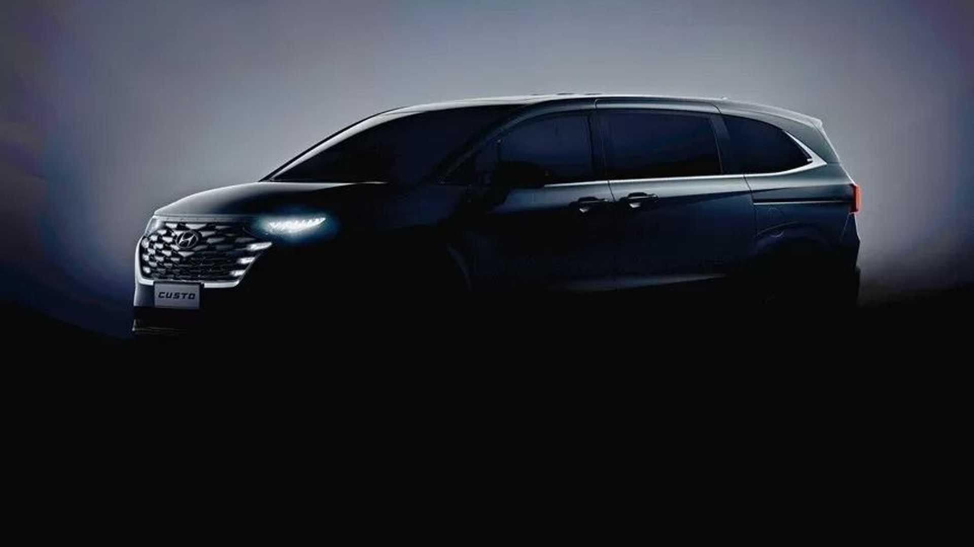 Hyundai Custo - 'Tucson 7 chỗ' chính thức lộ diện, đấu Kia Carnival - Ảnh 1.