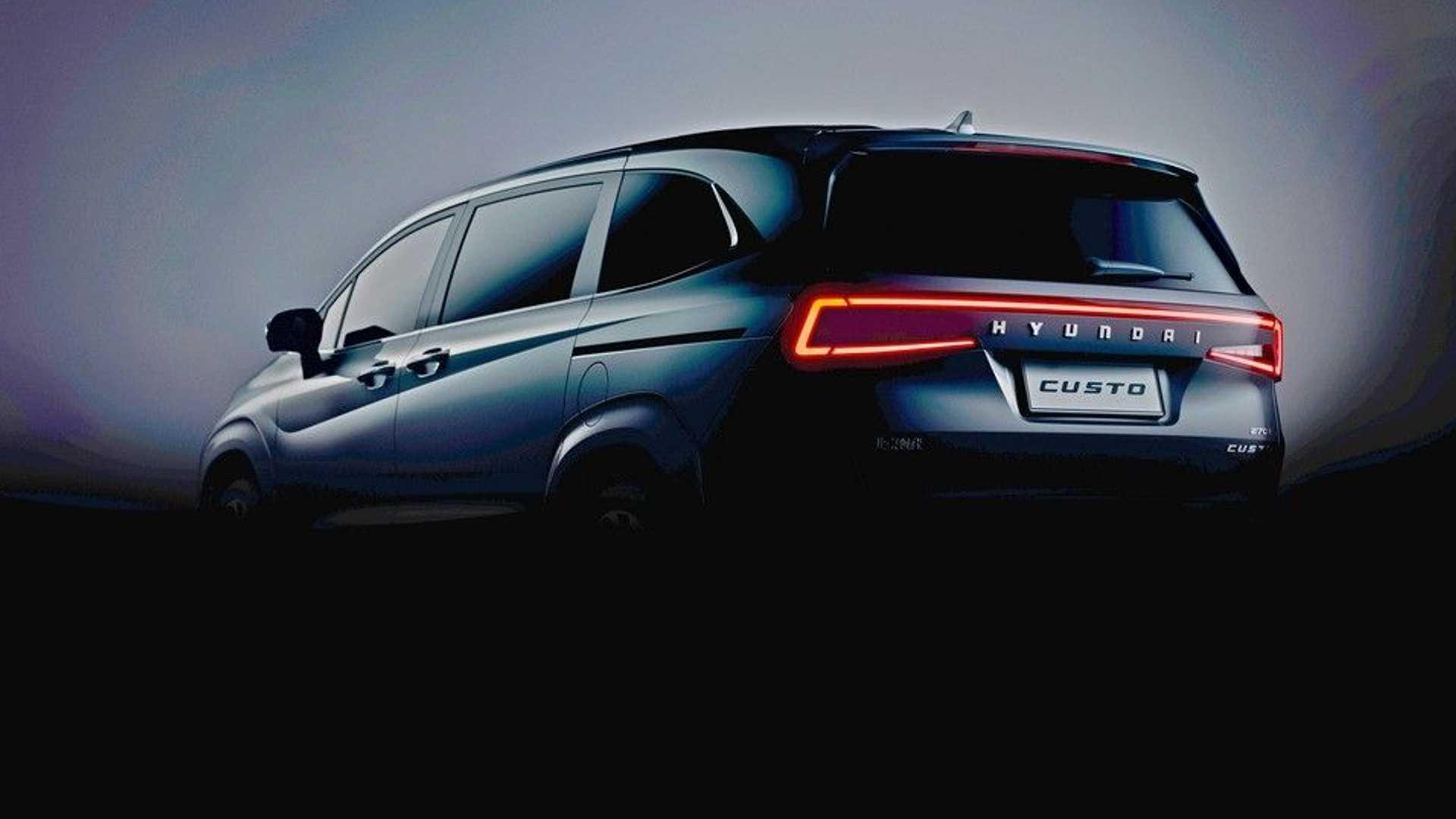 Hyundai Custo - 'Tucson 7 chỗ' chính thức lộ diện, đấu Kia Carnival - Ảnh 2.