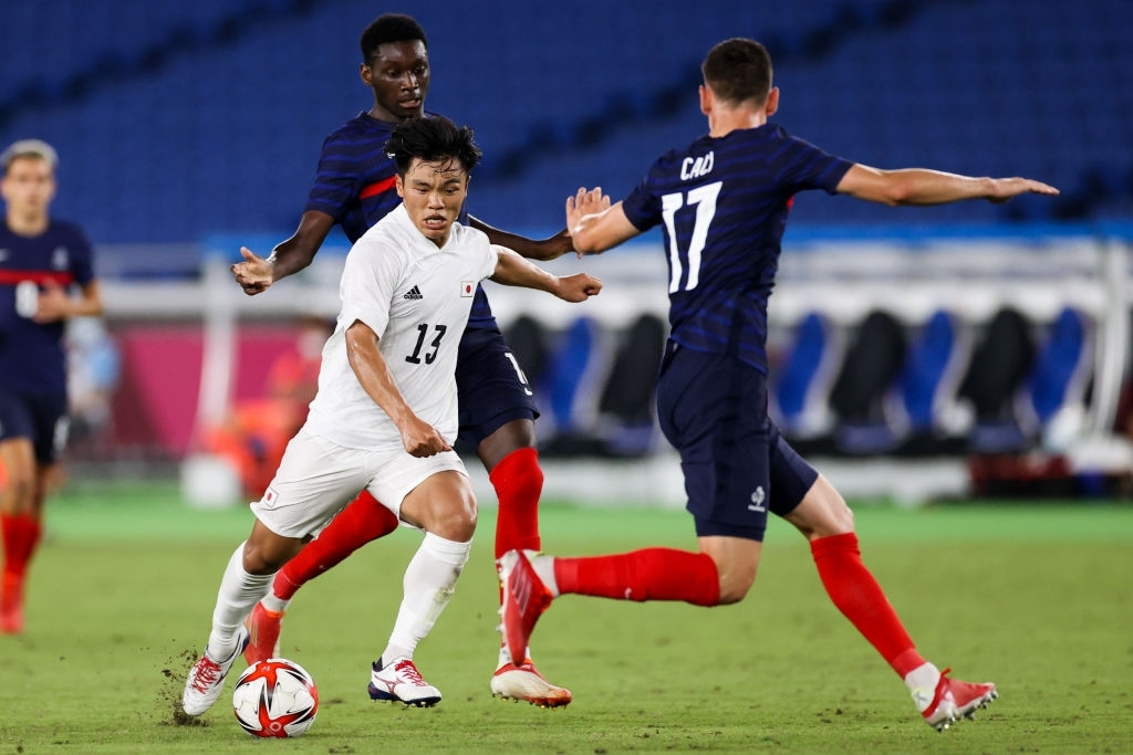 Hatate Reo thi đấu nổi bật trong hiệp hai của trận đấu
