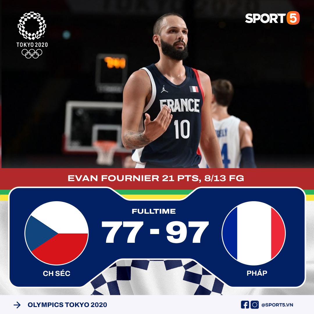 Kết quả lượt trận thứ hai môn bóng rổ Olympic Tokyo 2020: Không có bất ngờ xảy ra - Ảnh 2.