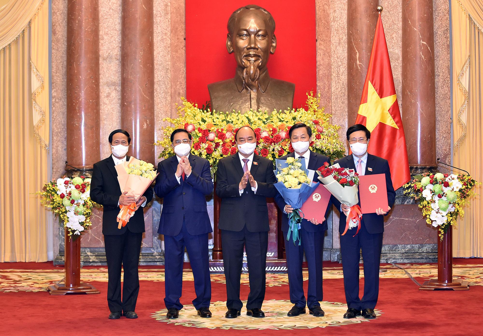 Chủ tịch nước: Chính phủ sẽ đẩy lùi đại dịch, sớm đưa đất nước trở về 'trạng thái bình thường mới' - Ảnh 1.