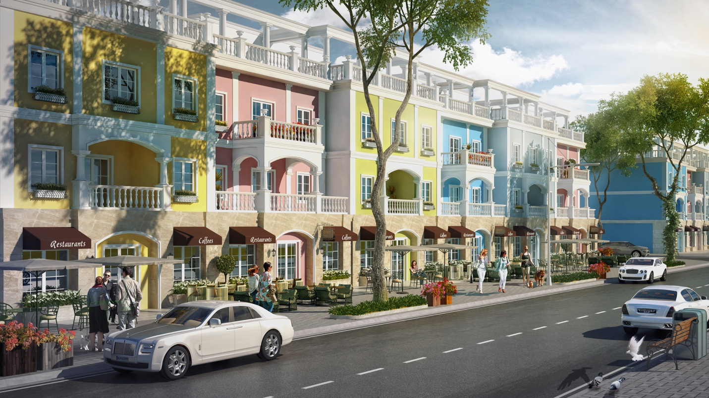 Shophouse FLC Quảng Bình: Lợi thế khác biệt từ mô hình đại quần thể - Ảnh 1.
