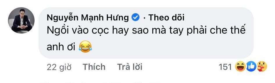 """Mạnh Trường Hương vị tình thân đăng ảnh tư thế """"lạ"""", Hồng Đăng bình luận gì mà được hơn 3.000 likes? - Ảnh 4."""