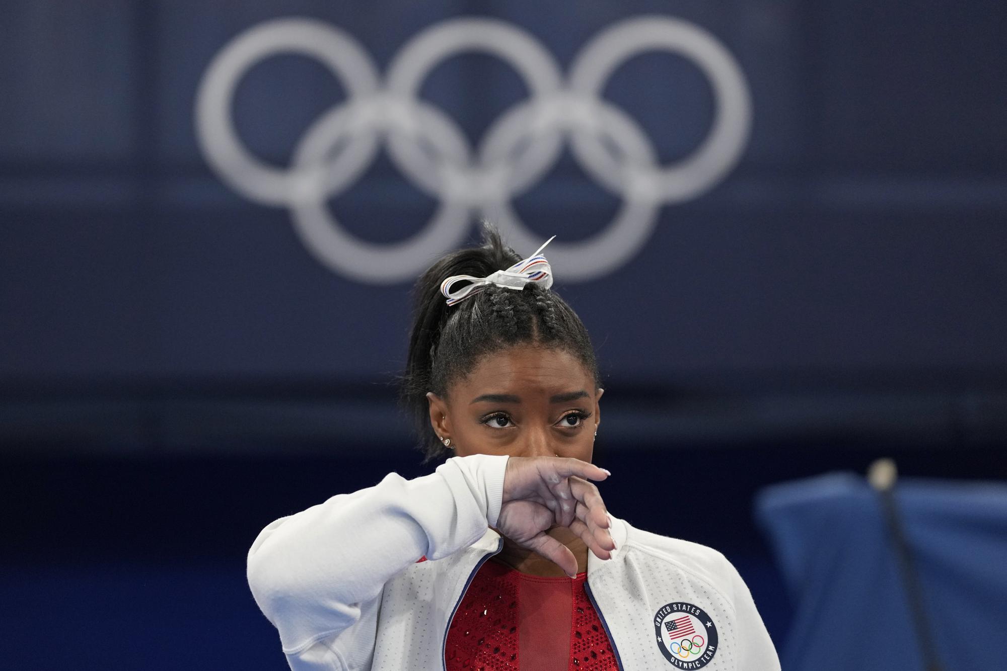 """Những hình ảnh """"trào nước mắt"""" của người chiến thắng, kẻ chiến bại tại Olympic Tokyo 2020 - Ảnh 3."""