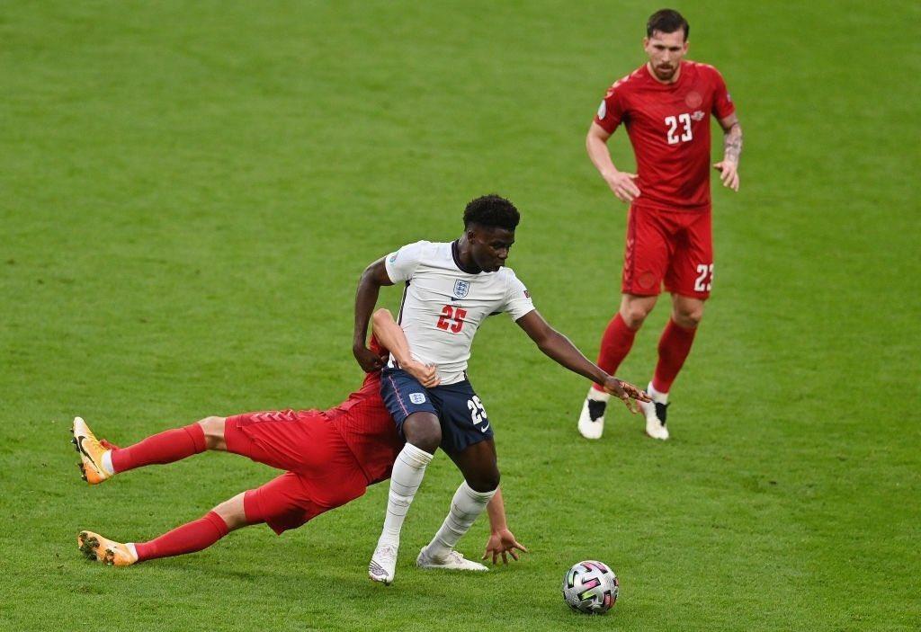 Chấm điểm cầu thủ Anh vs Đan Mạch: Maguire và Sterling tỏa sáng rực rỡ - Ảnh 8.