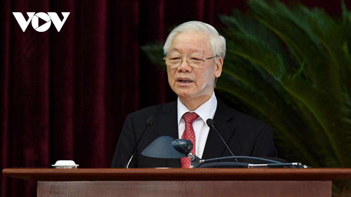 Toàn văn phát biểu bế mạc Hội nghị Trung ương 3 của Tổng Bí thư Nguyễn Phú Trọng - Ảnh 1.