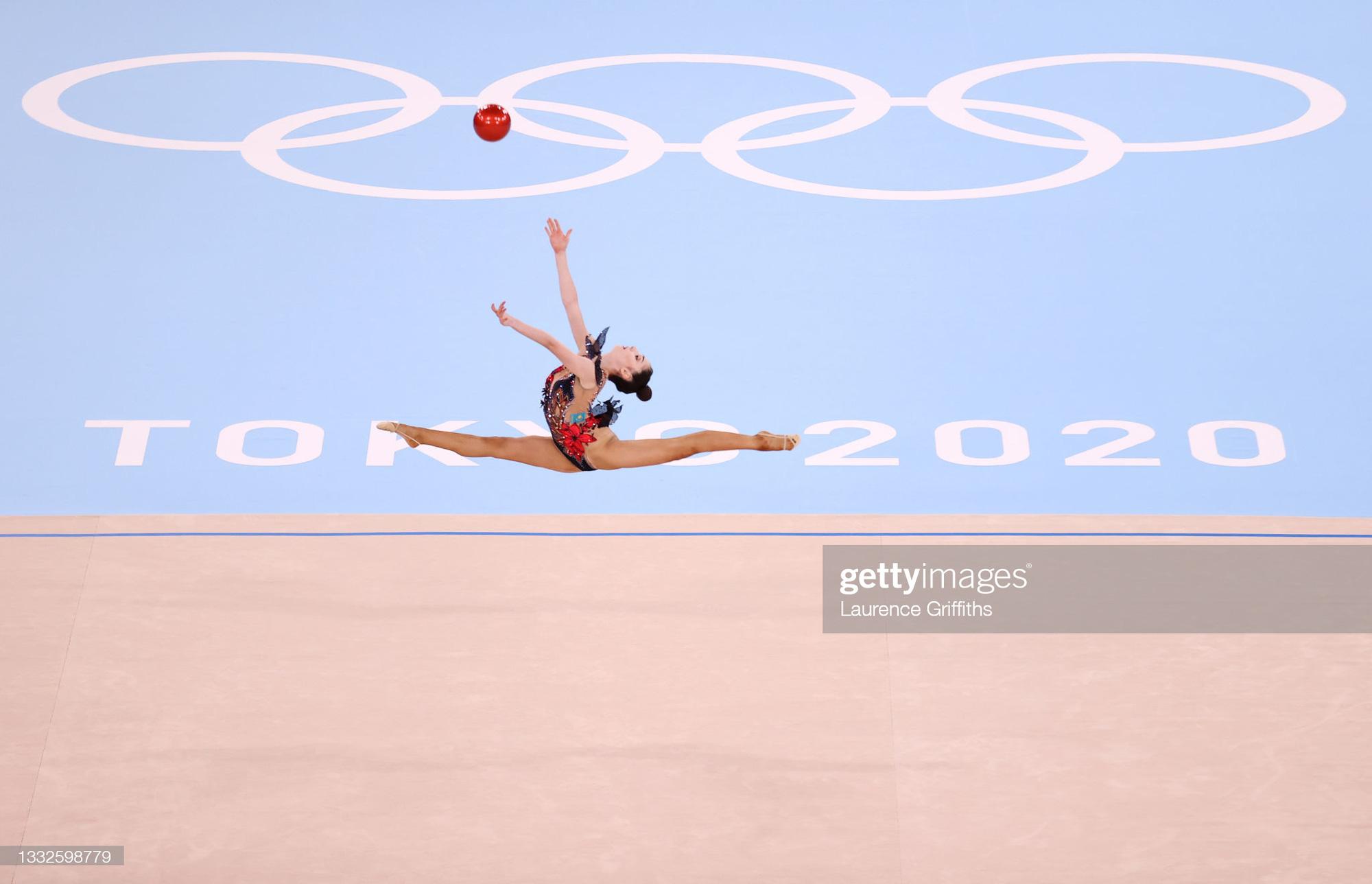 Những góc ảnh đẹp ngỡ ngàng ở Olympic Tokyo 2020 - Ảnh 1.