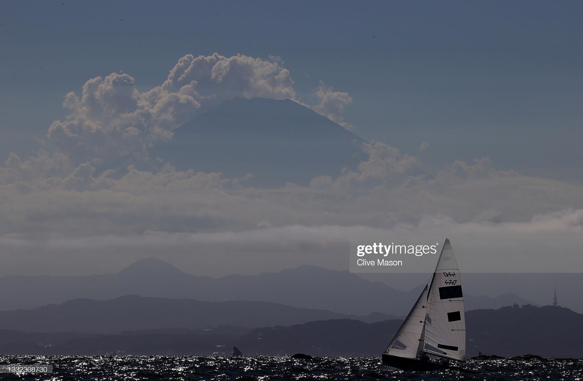 Những góc ảnh đẹp ngỡ ngàng ở Olympic Tokyo 2020 - Ảnh 24.