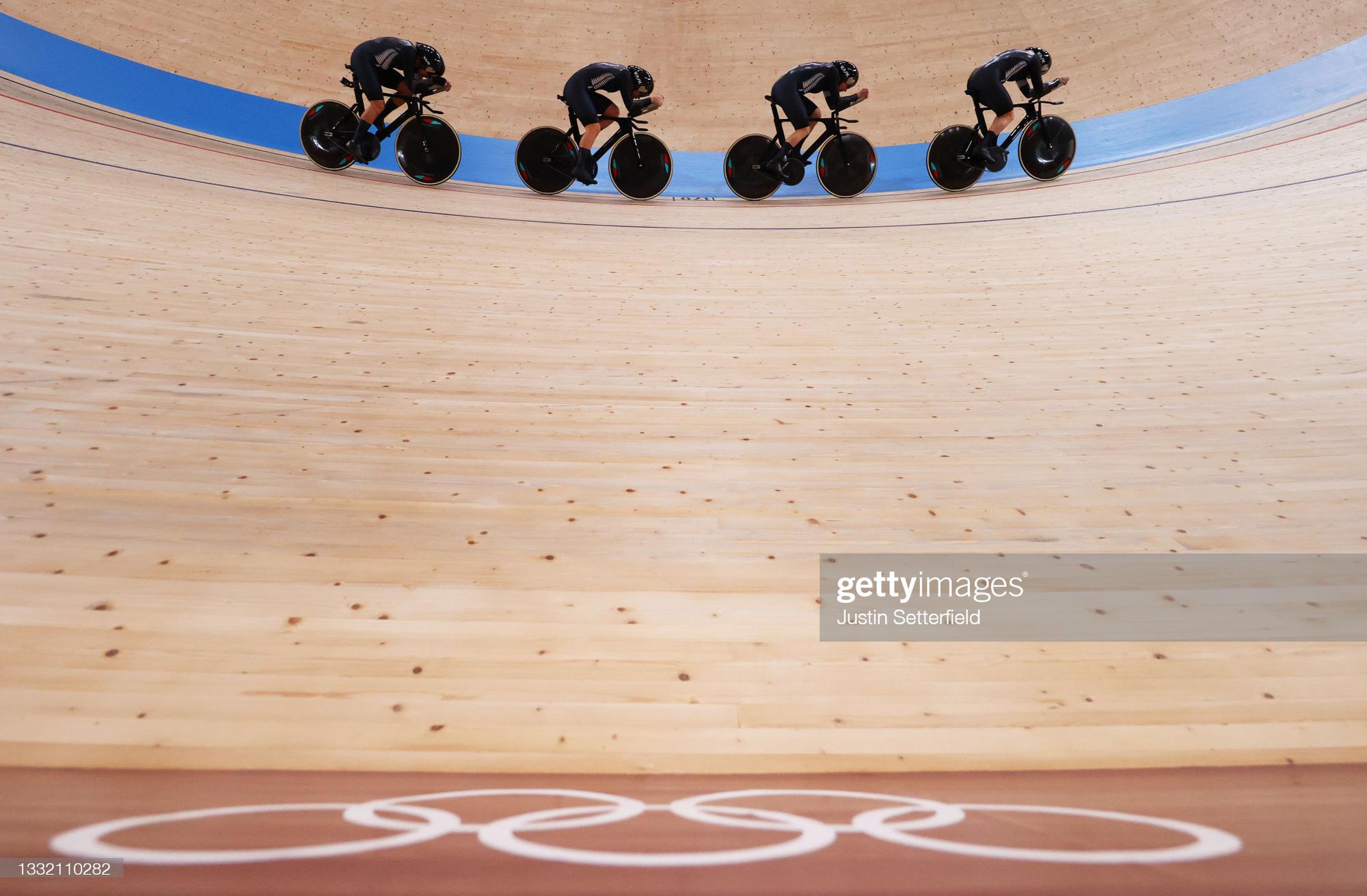 Những góc ảnh đẹp ngỡ ngàng ở Olympic Tokyo 2020 - Ảnh 3.