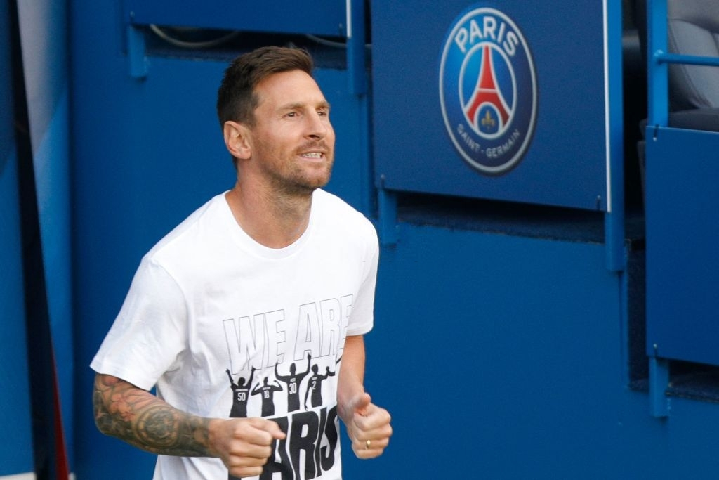 Messi and rookies greet the PSG audience in the first match at home - Photo 1.