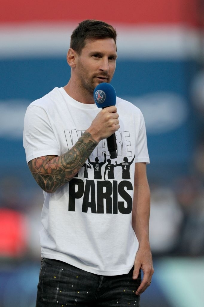 Messi and rookies greet the PSG audience in the first match at home - Photo 6.