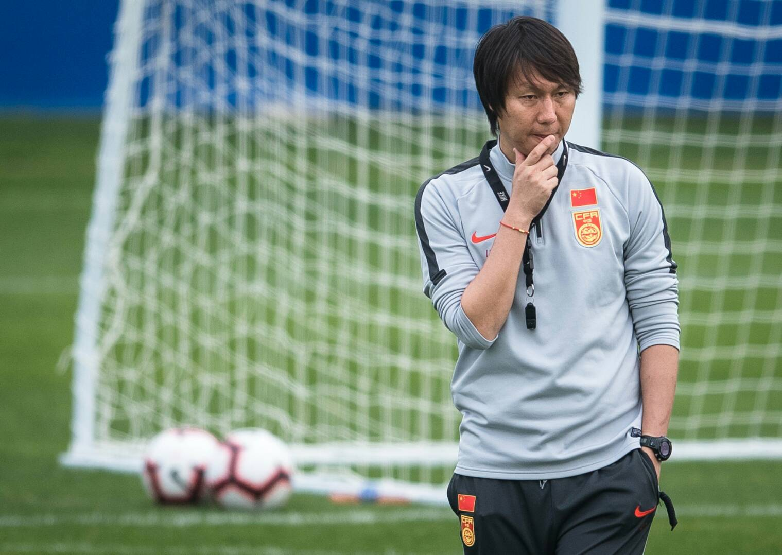 There is no story that the Chinese team changed the head coach before facing Vietnam in the World Cup qualifiers - Photo 1.