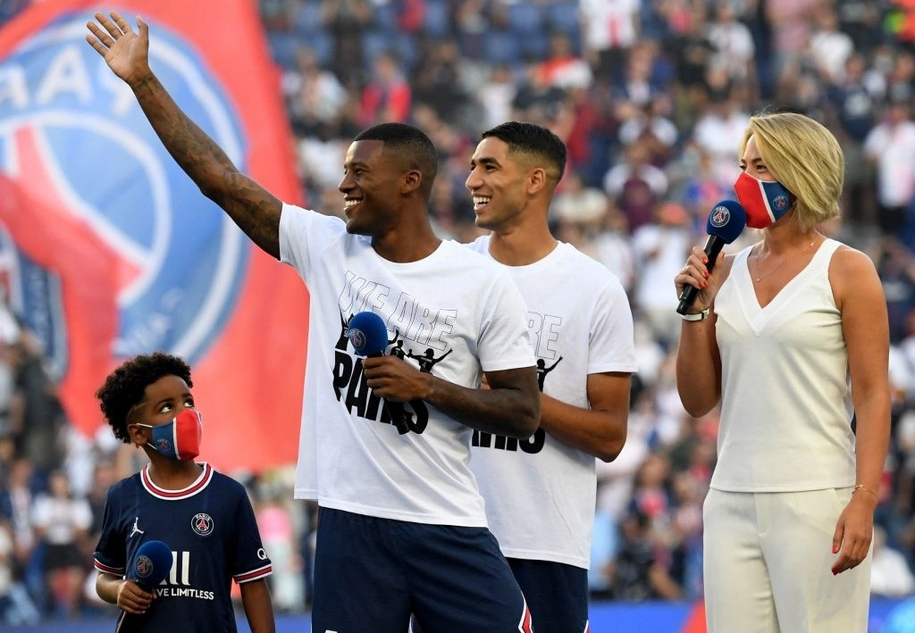 Messi and rookies greet the PSG audience in the first match at home - Photo 8.