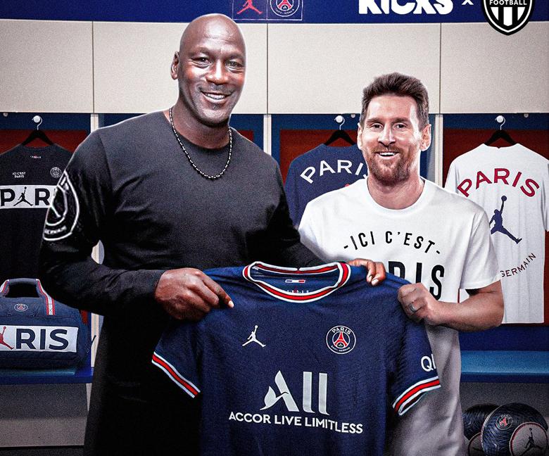 """Michael Jordan """"ăn nên làm ra"""" nhờ sự gia nhập của Lionel Messi ở PSG - Ảnh 1."""