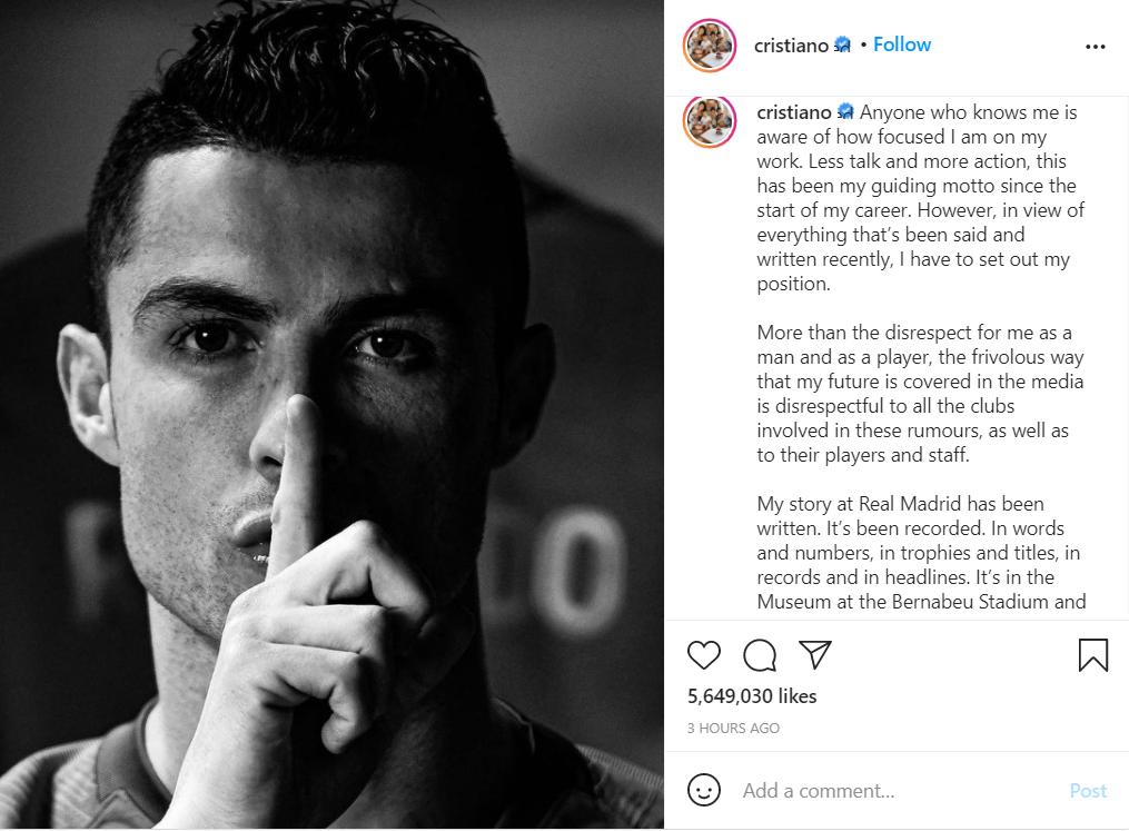 Ronaldo spoke harshly after being constantly rumored about the future - Photo 2.