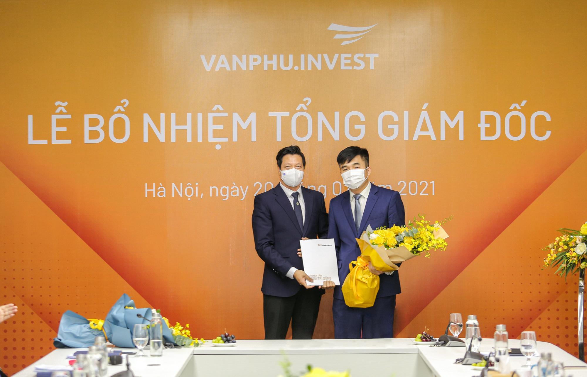 Văn Phú – Invest bổ nhiệm Tổng giám đốc mới - Ảnh 1.